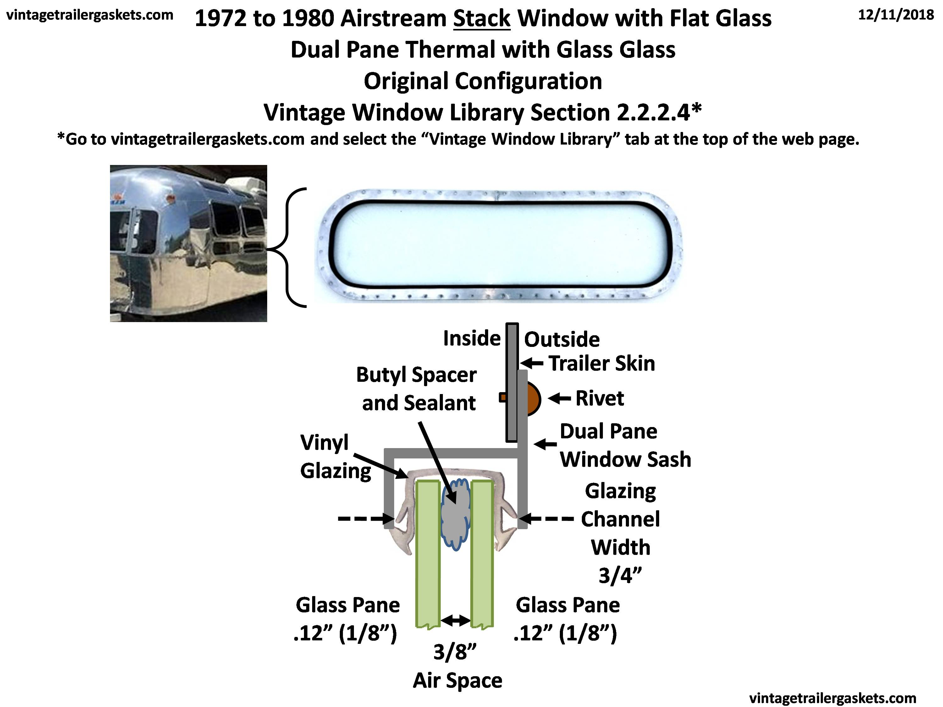 Vintage Window Library Trailer Gaskets Doubleglazingdiagram01jpg Original Configuration